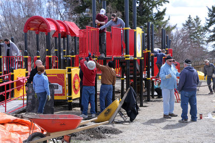 Kinsmen Playground build